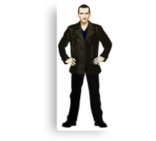 The 9th Doctor - Christopher Eccleston Canvas Print