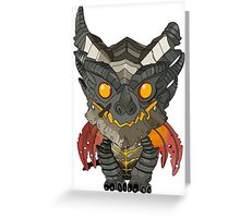 Deathwing Greeting Card