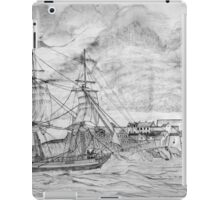 Sailing Ship off Castle Cornet in Guernsey - all products iPad Case/Skin