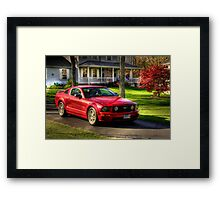 The Stang in HDR Framed Print