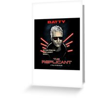 The Replicant Greeting Card