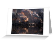 Sunset serenity..... Greeting Card