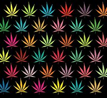 Cannabis Leaf Pattern by theimagezone