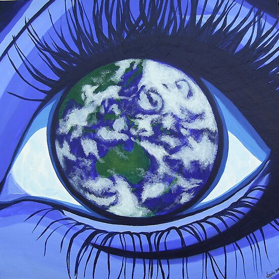 The Eye of Gaia by dimarie
