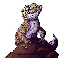 Nubbins the Gecko by Tessa Roever