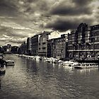 Bristol Docks by Alan Watt