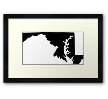 American State of Maryland Framed Print