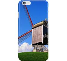 Sint-Janshuis Windmill, Bruges iPhone Case/Skin