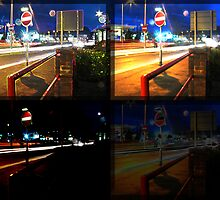 four piece of a stopsign/rail by PirateJack