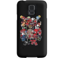Spidey across time and space Samsung Galaxy Case/Skin