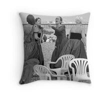 Beach Belles Throw Pillow