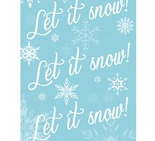 Let it snow let it snow let it snow! by meeperoon