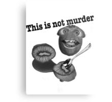 This is not murder kiwi 2 Metal Print