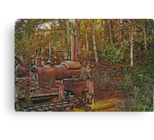 Machine from another time Canvas Print