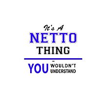 It's a NETTO thing, you wouldn't understand !! by thestarmaker