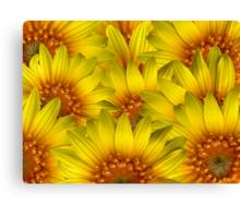 Sunflower Painting Canvas Print