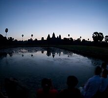 Angkor Wat Sunrise by Chris Muscat