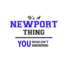 It's a NEWPORT thing, you wouldn't understand !! by thestarmaker