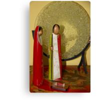 Simple Nativity Scene Canvas Print