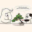Christmas Bonsai by Panda And Polar Bear
