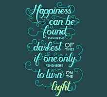 Dumbledore quote - Harry Potter by peetamark