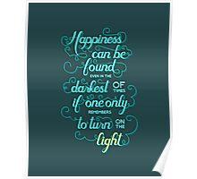 Dumbledore quote - Harry Potter Poster