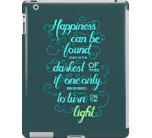 Dumbledore quote - Harry Potter iPad Case/Skin