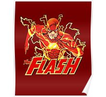 The Flash - Cool Portrait Nerdy Poster