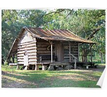 Country Folks Cabin Poster