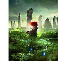 Merida Walking - The Brave Disney Photographic Print