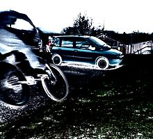 Murdo and a (fiat)panda by AndrewBlackie
