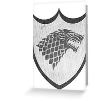 Stark Sigil Greeting Card