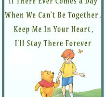 Winnie the Pooh Disney - Firendship Loveship Quote by peetamark