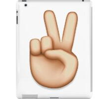 PEACE EMOJI iPad Case/Skin