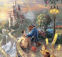 The Beauty and The Beast Disney - All Characters by peetamark