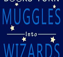 Books Turn Muggles in Wizards - Books Addiction by peetamark
