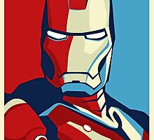 Ironman Obamized Style - Nerdy Must Have by peetamark