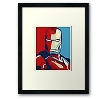 Ironman Obamized Style - Nerdy Must Have Framed Print