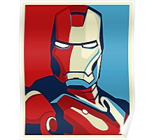 Ironman Obamized Style - Nerdy Must Have Poster