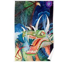 Zoe Dragon Poster