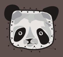 PANDA BEAR PATCH by SofiaYoushi