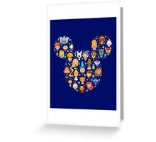Disney Movies - All Characters Greeting Card