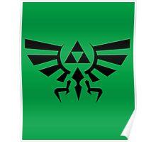 The Legend of Zelda - Triforce Symbol Poster