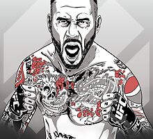 UFC - CM Punk by averagejoeart
