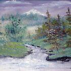 Shiny River by Cynthia Kondrick