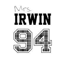 Mrs. Irwin 94 white Photographic Print