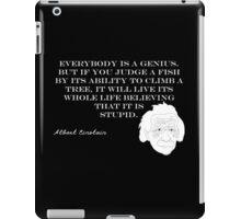 Genius - Albert Einstein iPad Case/Skin