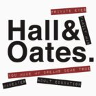 Hall & Oates. by GenialGrouty