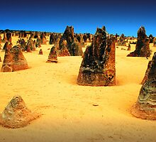 The Pinnacles I by Mark Moskvitch