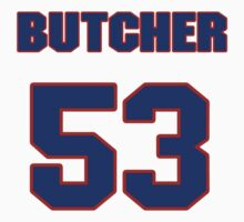 National football player Paul Butcher jersey 53 by imsport
